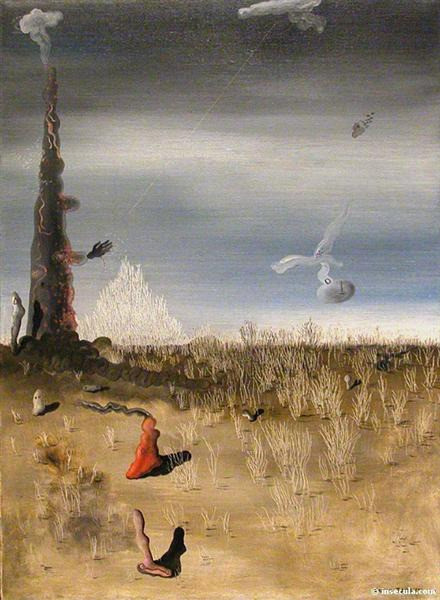 Yves Tanguy, Extinction of Useless Lights, 1927