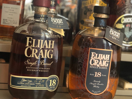 Review #3 - Elijah Craig 18 Year Head to Head (2015, 2019)