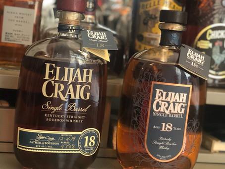 Review #3 - Elijah Craig 18 Year Head to Head (2015, 2019)