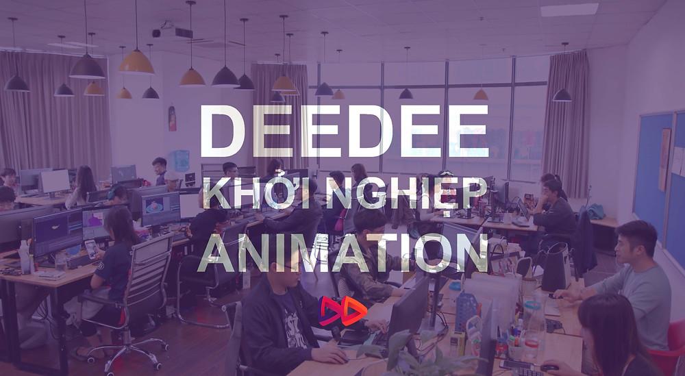 DeeDee khởi nghiệp animation
