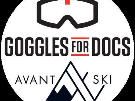 Fight COVID-19: Join Avant Ski's Effort for Goggles for Docs