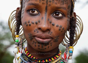 Wodaabe or Bororo people from southern Chad