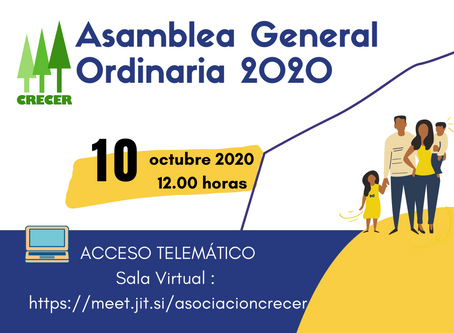 Convocatoria AGO 2020