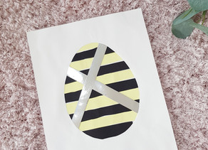 Easy paper Easter egg craft