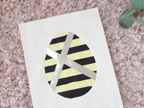 Easy paper Easter egg craft
