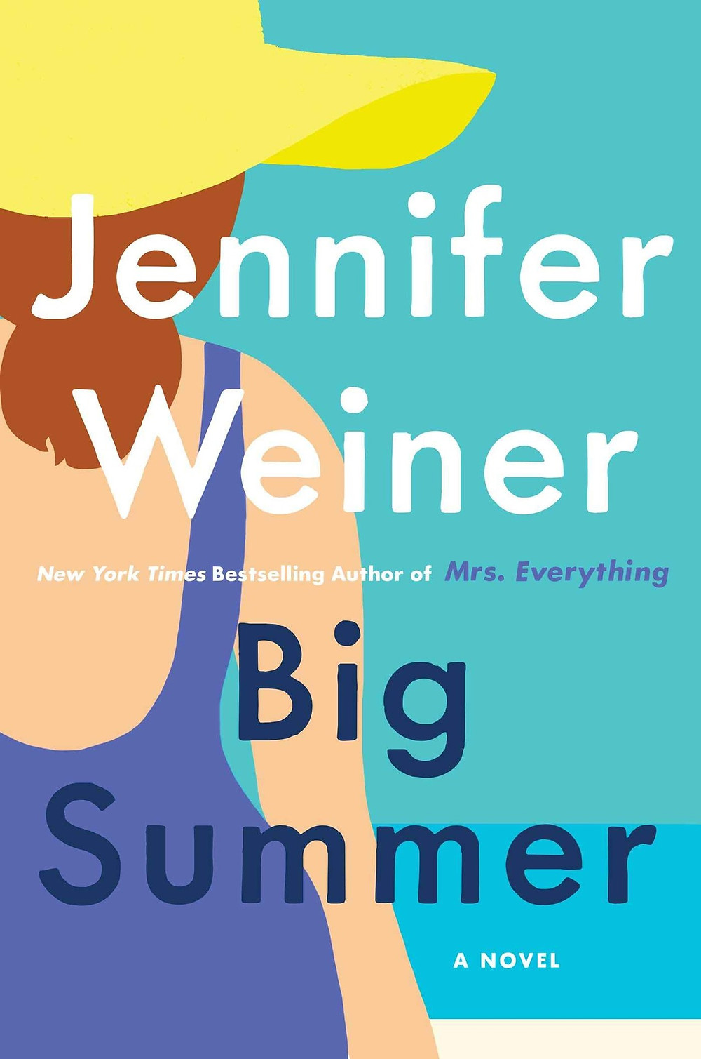 Big Summer by Jennifer Weiner THEBOOKSLUT book reviews the bookslut