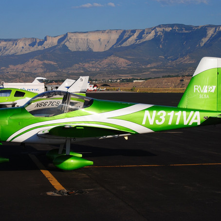 Flying an RV-12 Across the Country