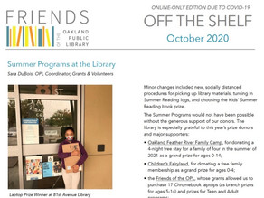 Our October Newsletter is Live!