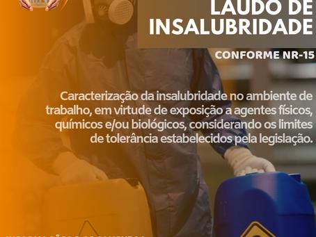 LAUDO DE INSALUBRIDADE
