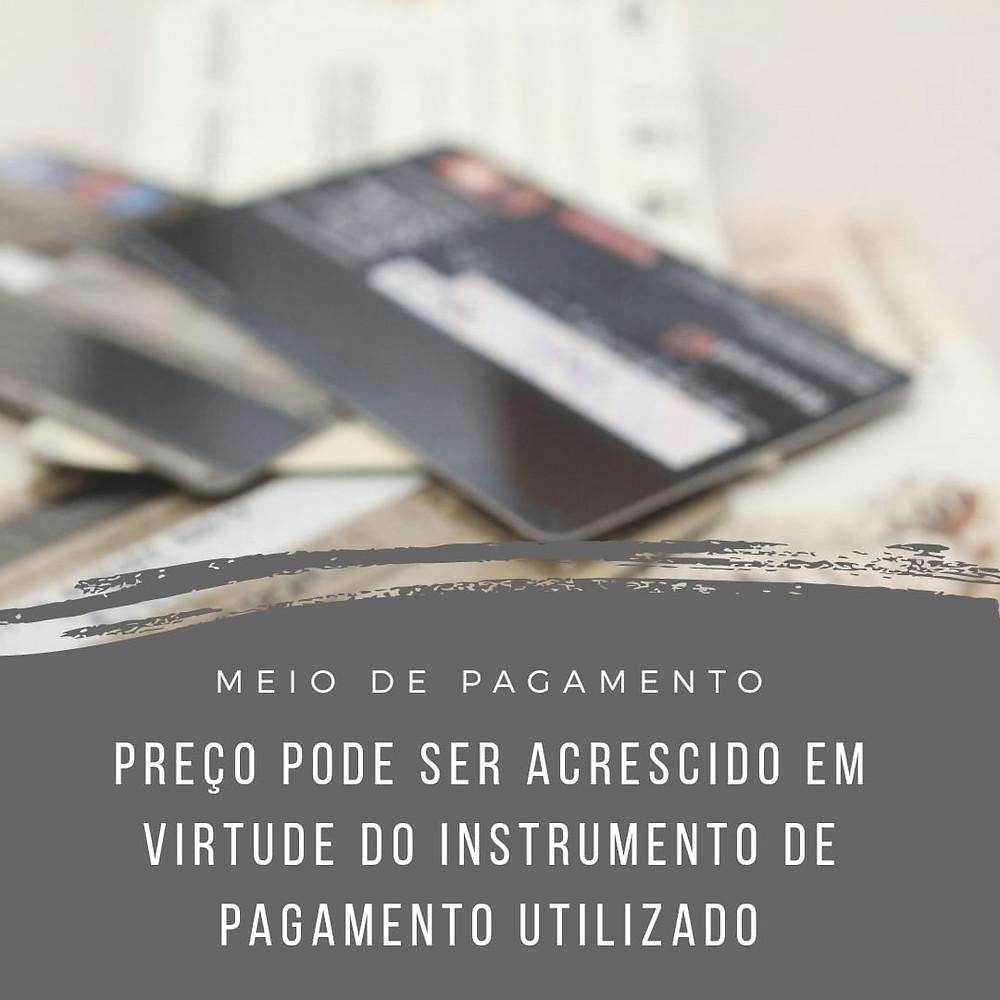 pagamento cartão de crédito débito