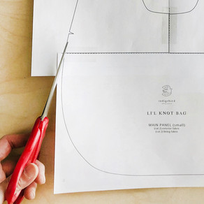 How to print PDF sewing pattern