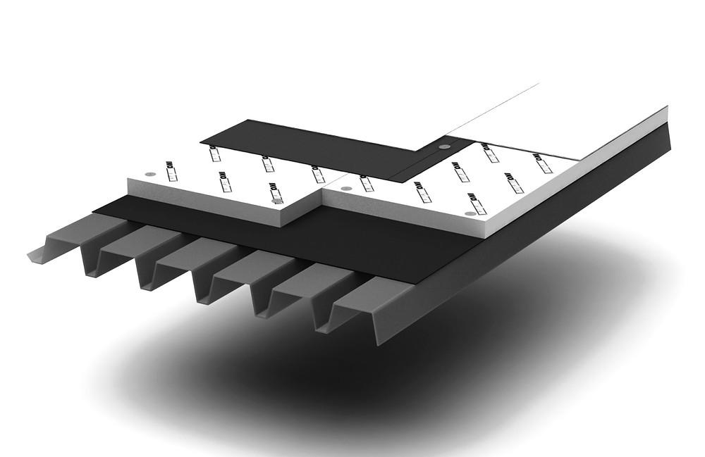 Bariera de vapori in hidroizolatii terase. Bucuresti. Izomag Construct