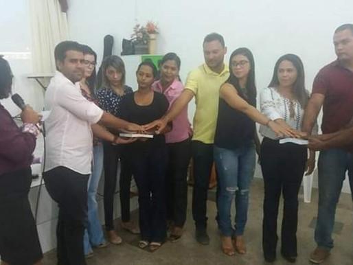Juramento Pós  Curso de Cidadania em Caxias -Ma.