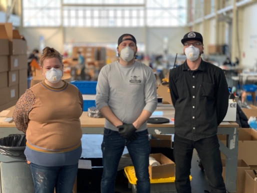 How One Fabrication-based Brooklyn Company Combats Covid-19 One Face Shield at a Time