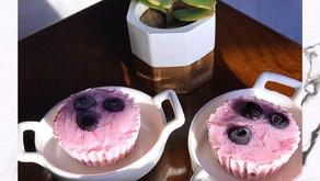 Zarlasht's Mixed Berries Frozen Yoghurt Granola Cups
