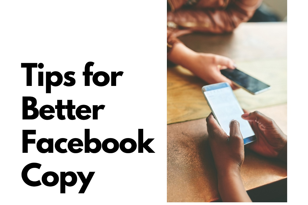 With only 3 lines of text, your social media copy needs to have a big impact!