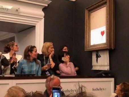 Banksy  - You Funny Artist - Brilliant