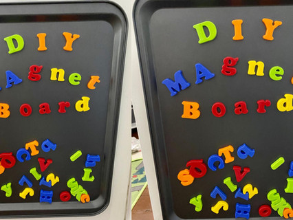 DIY Magnet Board | Easy & Inexpensive