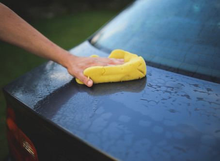 Spring Cleaning for Your Car