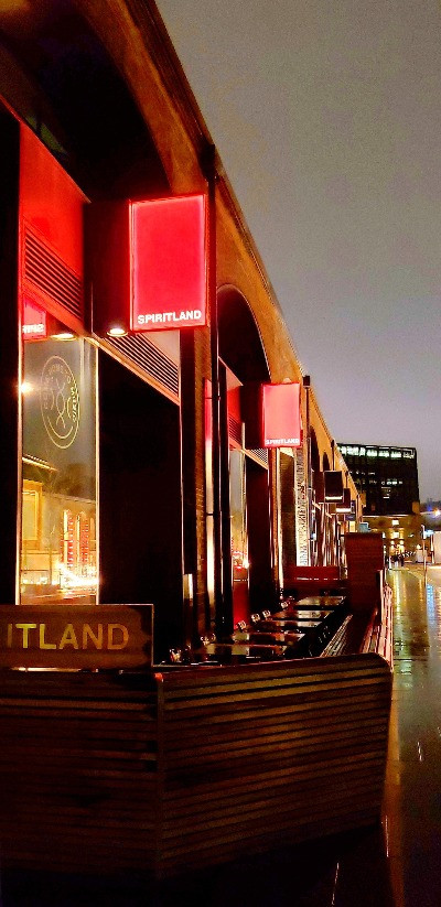 Spiritland cocktail bar Spitalfields