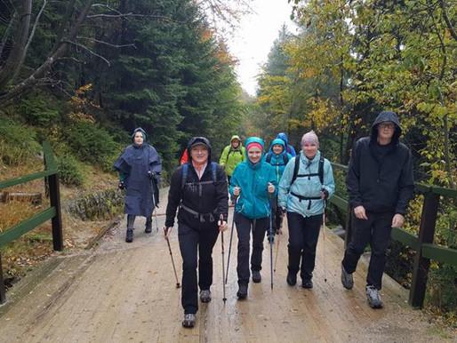 Relacja z wyjazdowego treningu nordic walking - Śnieżne Kotły, Karkonosze