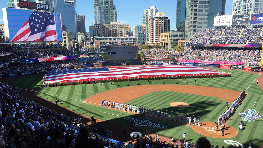 Petco Park Opening Day Major League Baseball San Diego Padres