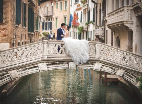 Venice Pre-Wedding Photoshoot
