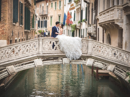 Venice Pre-Wedding Photoshoot