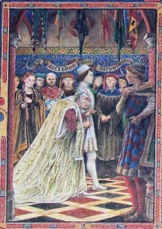 La Bruja, Gawain y el Rey Arturo