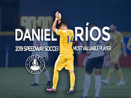 Daniel Ríos Named 2019 Speedway Soccer Most Valuable Player