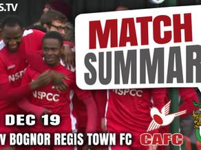 Match summary - Bognor Regis Town