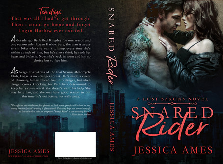 Snared Rider cover reveal!