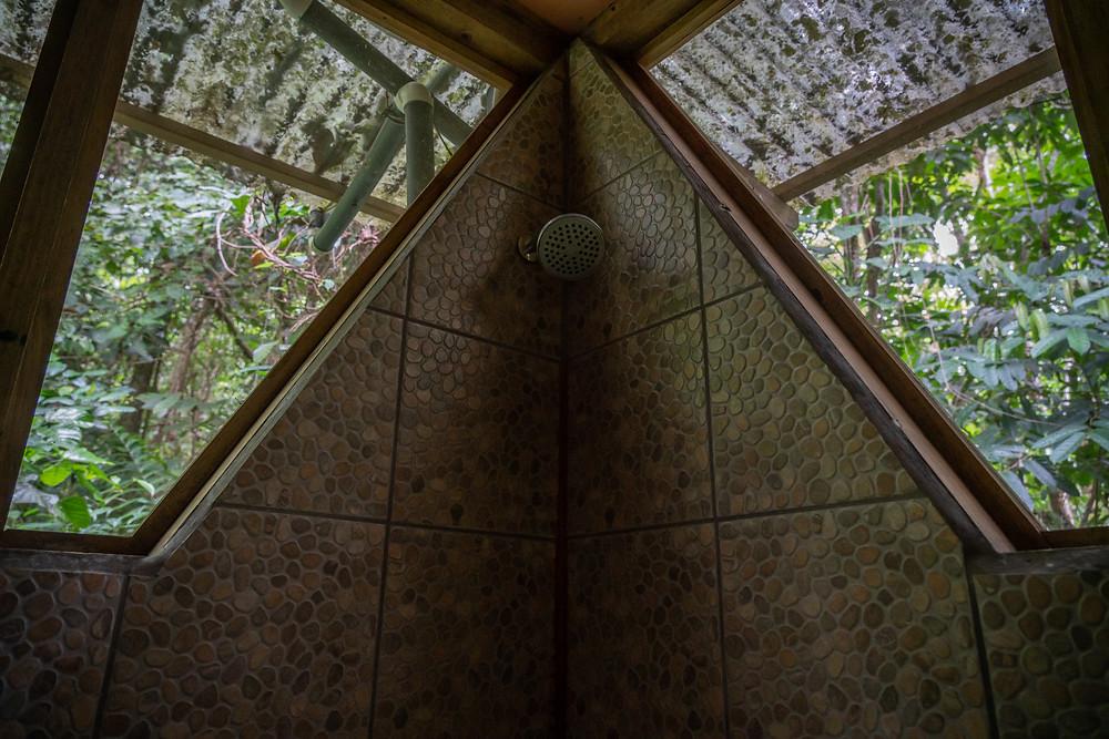 Shower at Casa Perezosa