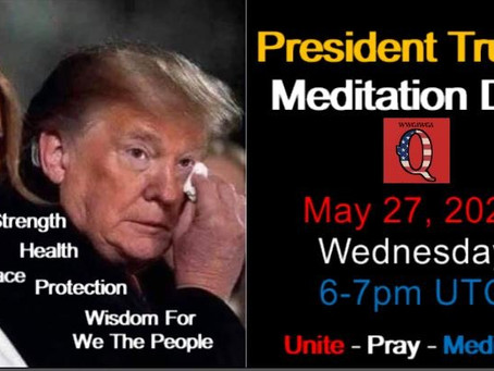 LET US UNITE! Being part of mass meditation helps to shift our timeline. Please share!