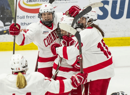 #4 Cornell Women's Hockey Crushes #9 Harvard At Home