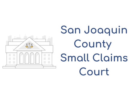 San Joaquin Small Claims