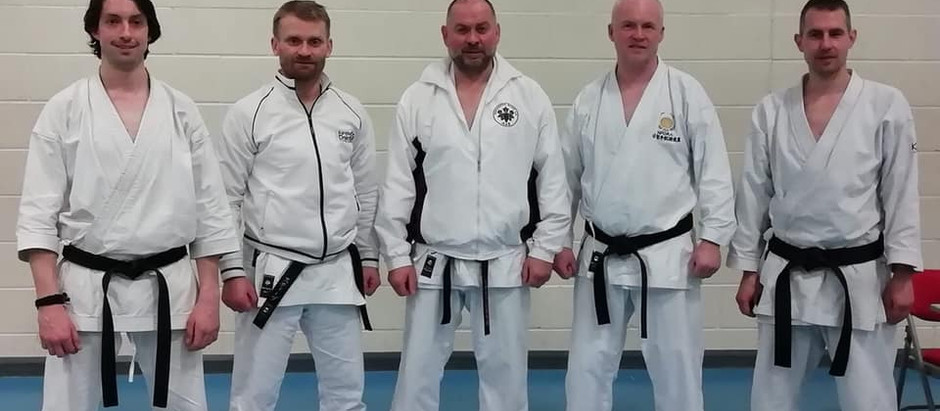 Black Belt Success at York Course & Grading - Sunday 17th February 2019
