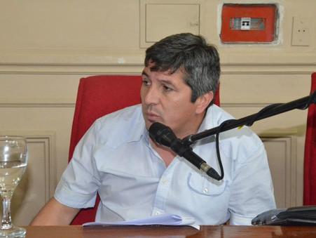 """Carlos Gómez: """"se cumplió lo que nosotros dijimos sobre el canje del Puerto de Frutos"""""""