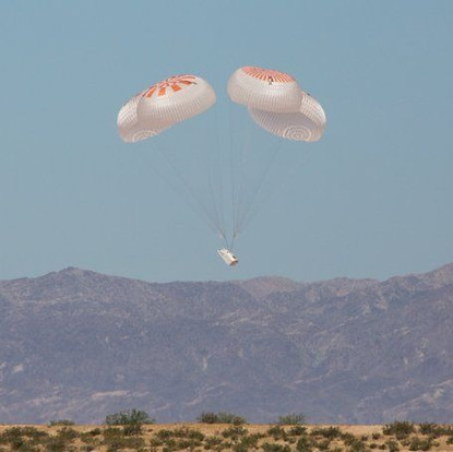 SpaceX aces final parachute test ahead of historic May 27 crew launch