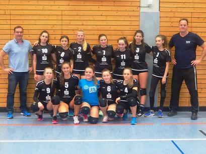 Die U16 Lechrain-Volleys-Mädels belegen einen sehr guten 9. Platz bei den Oberbayerischen Meistersch