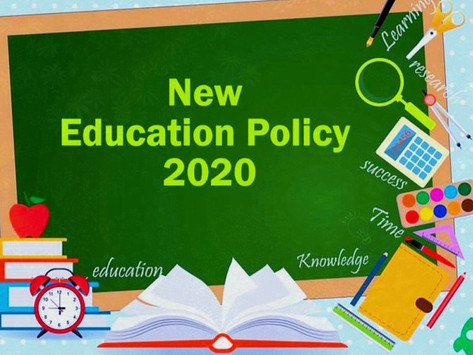 National Education Policy, 2020