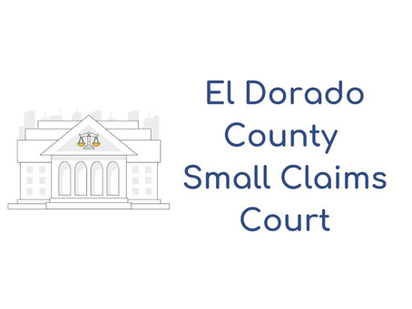 El Dorado County Small Claims