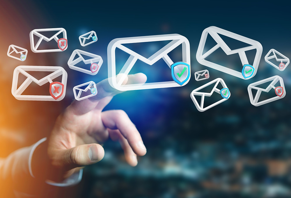 Digital photo of mails | Mail Master | Email Overload Solution Kent