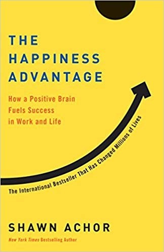 Cover of The Happiness Advantage book by Shawn Achor