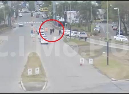 Secuestran una moto y multan a su conductor por evadir controles y no respetar la cuarentena