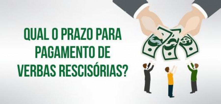 pagamento verbas rescisórias rescisão contrato de trabalho reforma trabalhista