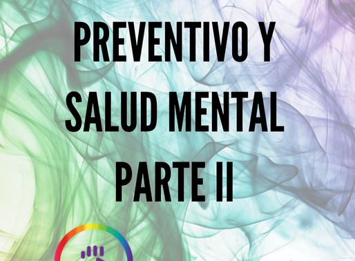 Aislamiento y Salud mental // La salud mental también es salud -  Parte II