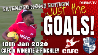 Just the Goals - Wingate & Finchley