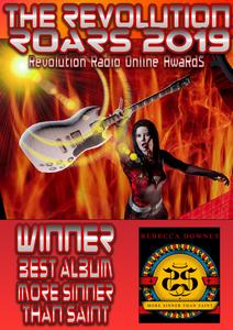 THE WINNER OF THE REVOLUTION ROAR FOR BEST ALBUM 2019