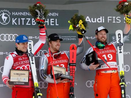 Kjetil Jansrud Claims Another Victory in Kitzbühel